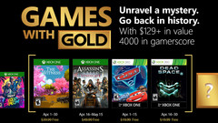 Xbox - April 2018 Games with Gold